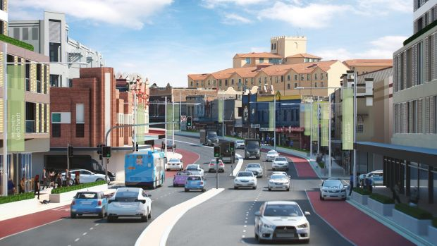 Parramatta Road: new jobs, open spaces, amenities while housing targets drop from 50,000 to 40,000