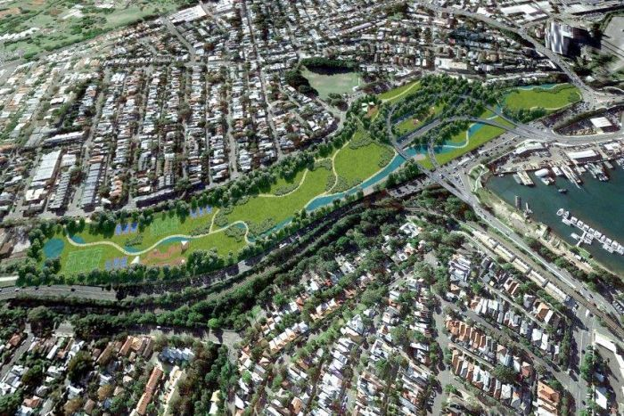 WestConnex interchange plans unveiled; Government to buy 27 properties on Victoria Road