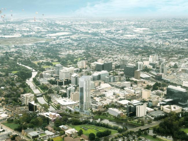 Project Sydney: Building a city of dreams - Parramatta in the greatest growth boom in its history