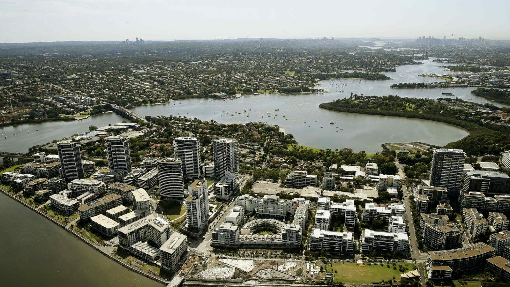 Population surge has one half of Sydney's inner west growing faster than the other as region tops 400,000 residents