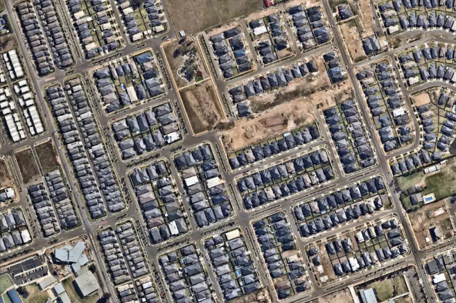 Images show drastic development in western Sydney